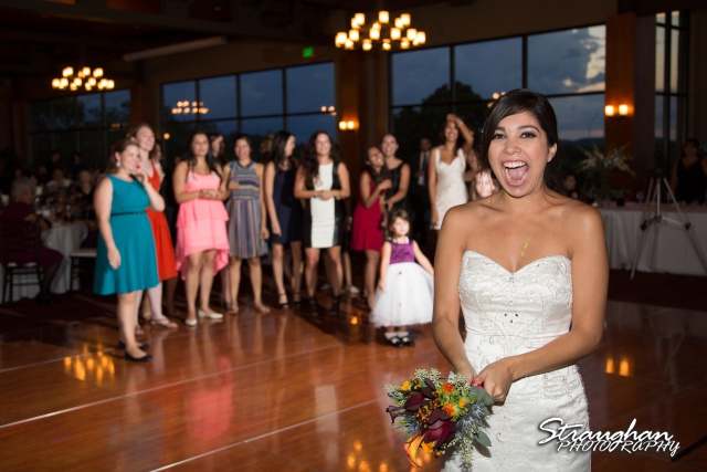 Cristina wedding St. Peters the Apostle Catholic Church Boerne toss