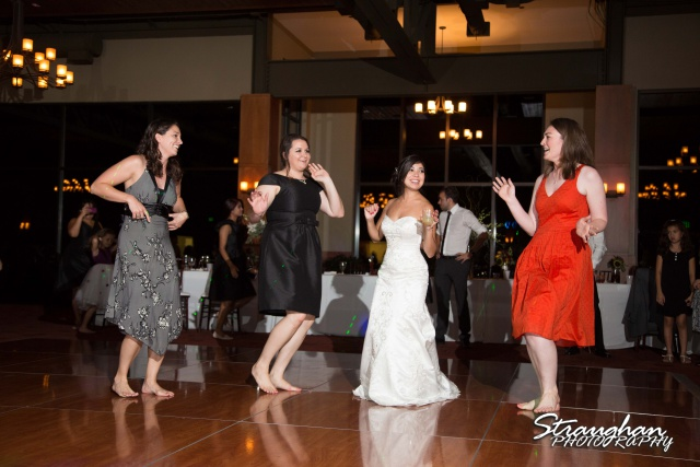 Cristina wedding St. Peters the Apostle Catholic Church Boerne dancing friends