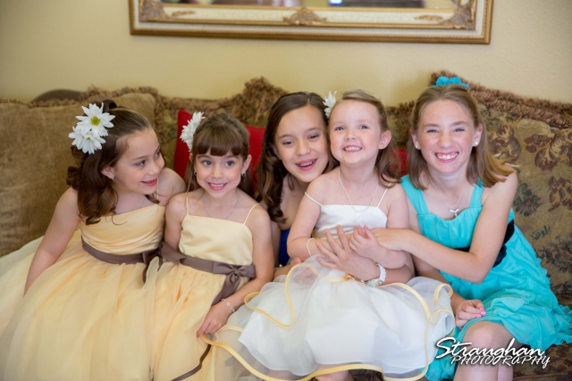 Wedding Faithville Village Devon little girls