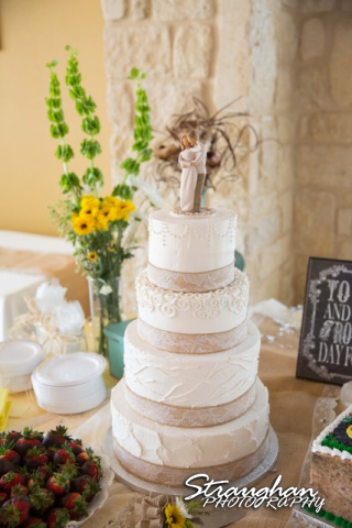 Wedding Faithville Village Devon cake