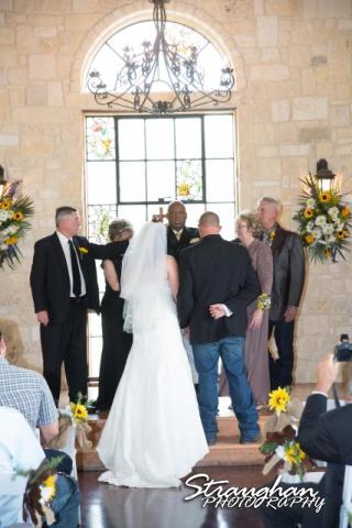 Wedding Faithville Village Devon blessing