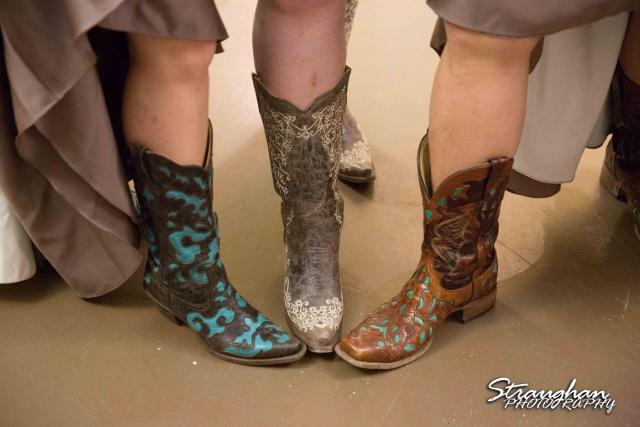 Wedding Faithville Village Devon boots