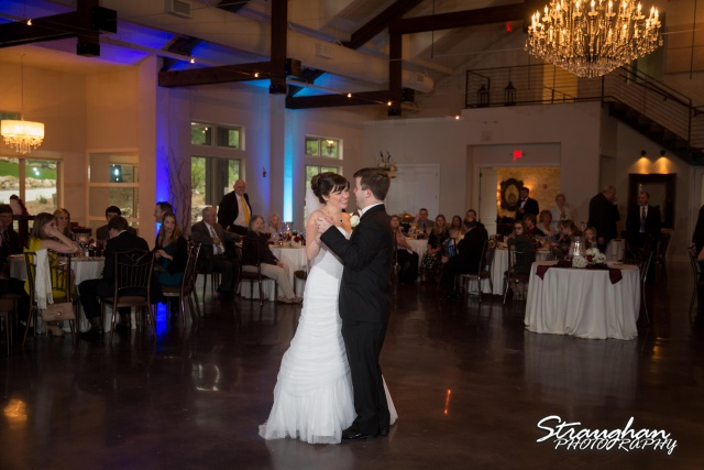 Jamie and Jack wedding Bridal Veil Falls first dance