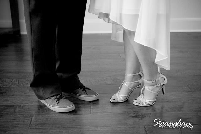 Josh DIY wedding Spring Branch shoes