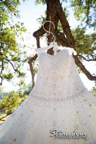 Wedding Bella Springs Jennifer dress in tree