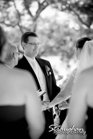 Wedding Bella Springs Jennifer grooms face