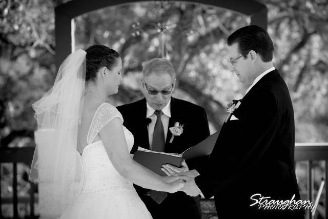 Wedding Bella Springs Jennifer ceremony prayer
