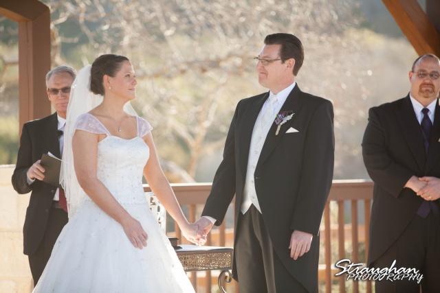 Wedding Bella Springs Jennifer singing