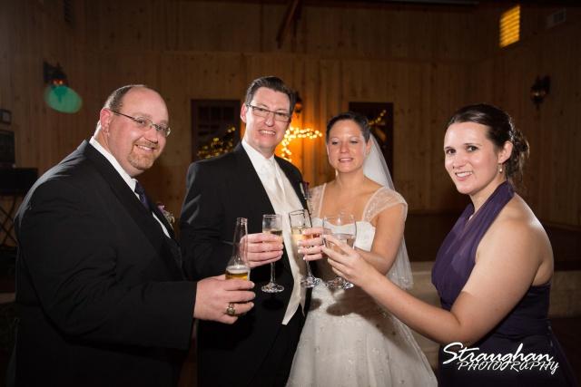 Wedding Bella Springs Jennifer cheers