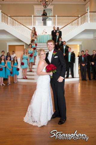 Katie wedding Kendall Plantation wedding party