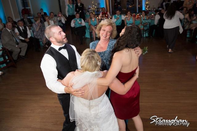 Katie wedding Kendall Plantation family dance
