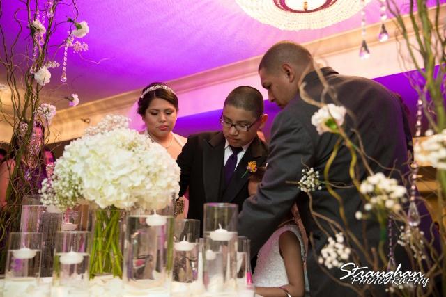 Lori & Joe wedding Sheraton Gunter family sand