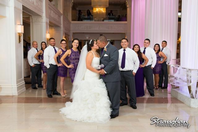 Lori & Joe wedding Sheraton Gunter bridal party