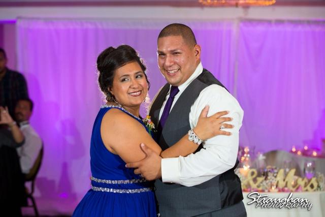 Lori and  Joe wedding Sheraton Gunter mother's dance