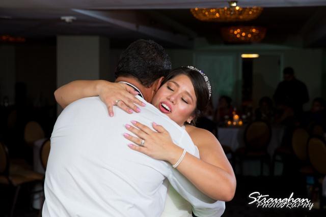Lori and Joe wedding Sheraton Gunter grooms dad