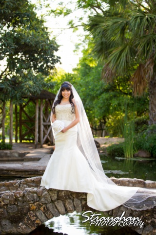 Jessica M's Bridal McNay Art Museum bridge