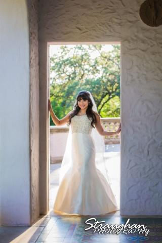 Jessica M's Bridal McNay Art Museum door way
