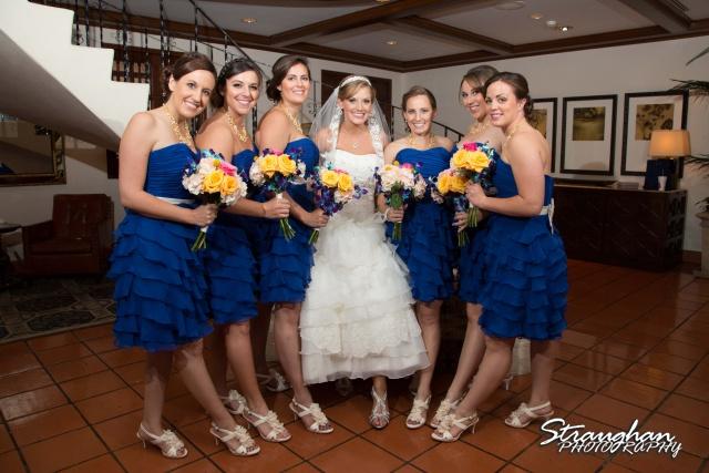 Jazmine's wedding Omni de la Mansion bridesmaids shoes