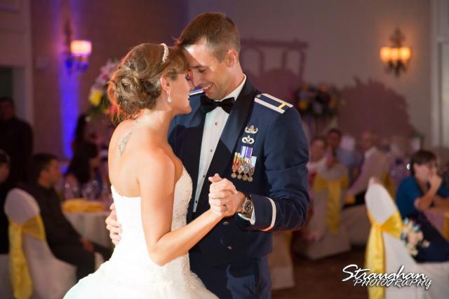 Jazmine's wedding Omni de la Mansion first dance
