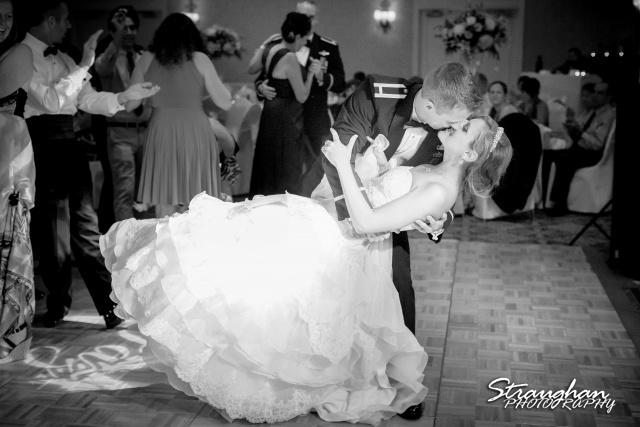 Jazmine's wedding Omni de la Mansion first dance dip