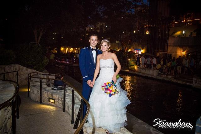 Jazmine's wedding Omni de la Mansion exit photo