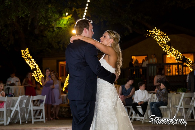 Joanna wedding Texas Old Town in Helotes first dance
