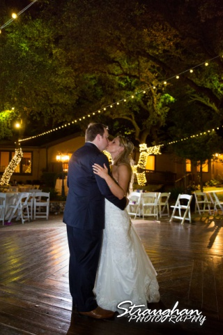 Joanna wedding Texas Old Town in Helotes last dance