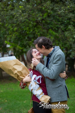 Kristina proposal Gruene kiss