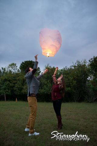 Kristina proposal Gruene lantern release