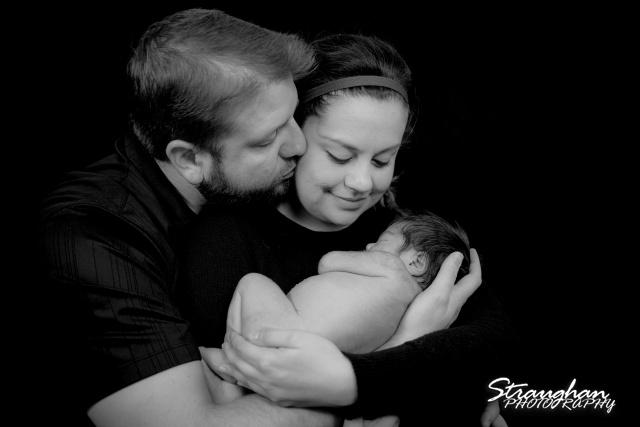 Baby Keagan with family