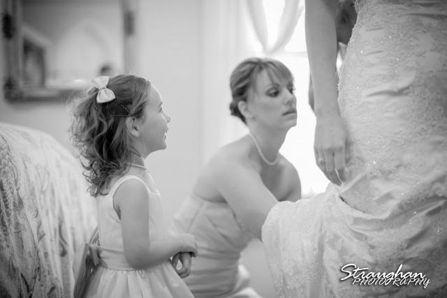 Kelley wedding St Peter's Boerne Ye Kendall Inn little girl