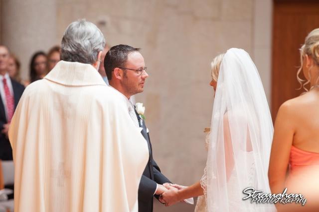 Kelley wedding St Peter's Boerne vows