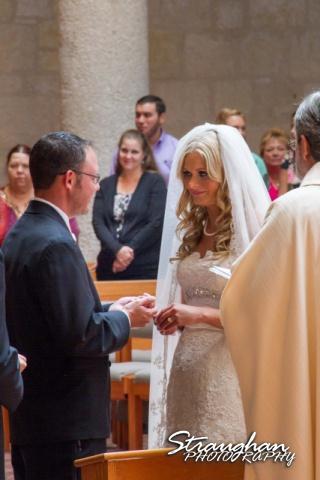 Kelley wedding St Peter's Boerne rings