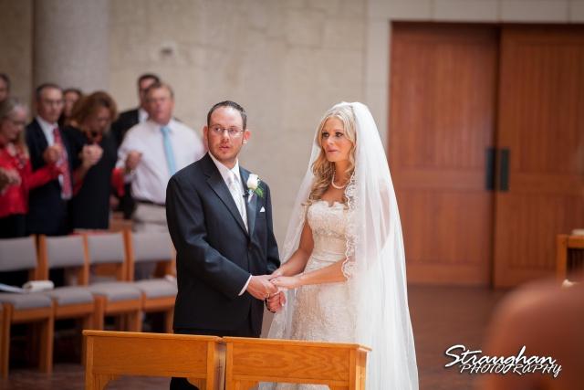 Kelley wedding St Peter's Boerne signing