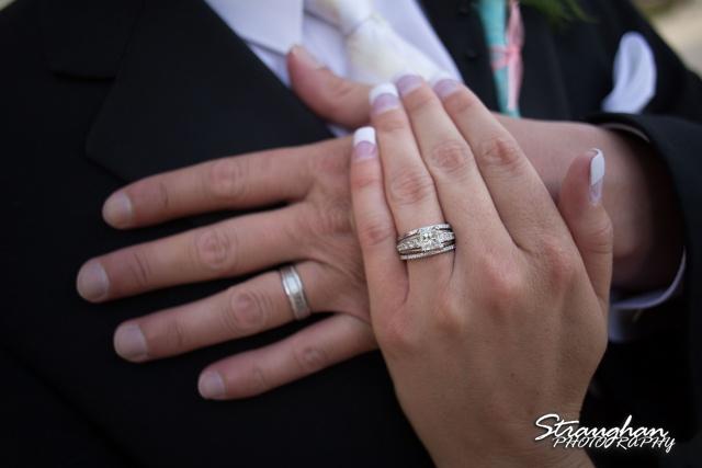 Kelley wedding St Peter's Boerne hands