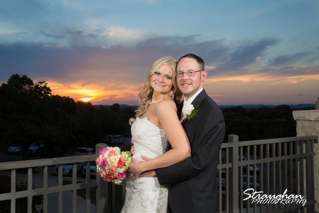 Kelley wedding St Peter's Boerne sunset photo