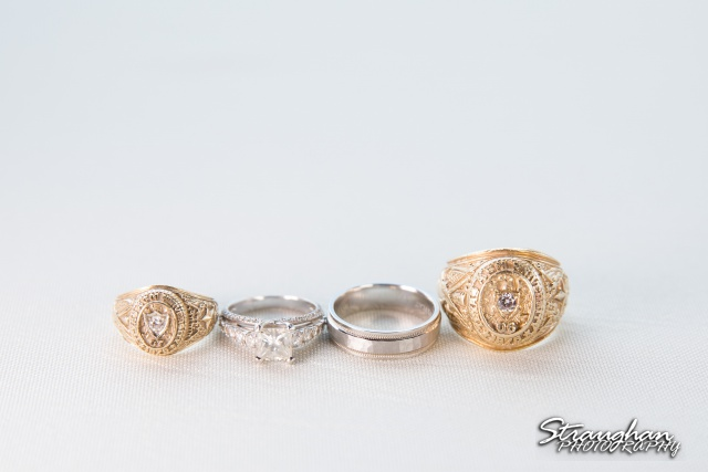 Kelley wedding St Peter's Boerne Texas A&M and wedding rings