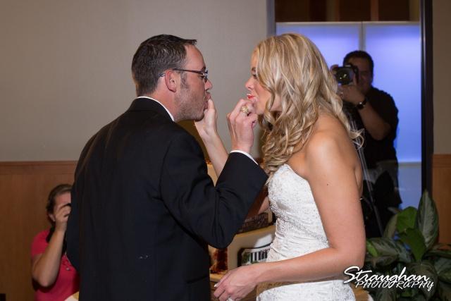 Kelley wedding St Peter's Boerne cake tasting