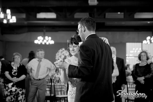 Kelley wedding St Peter's Boerne mother son dance