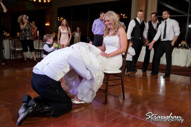 Kelley wedding St Peter's Boerne garter