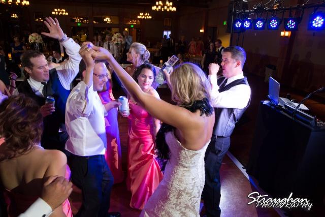 Kelley wedding St Peter's Boerne partying
