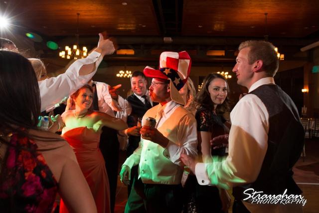 Kelley wedding St Peter's Boerne Garrett partying