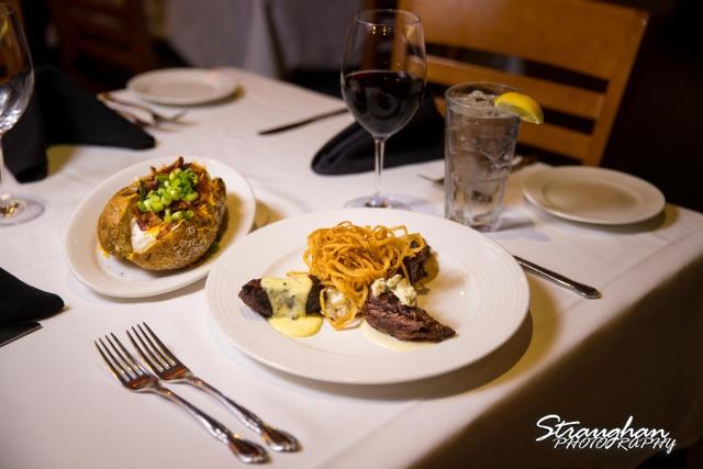 Kirby's San Antonio Steak House steak and potatoes