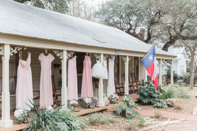 Kristin wedding Gruene Estates all the dresses