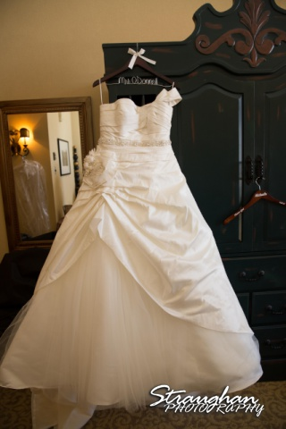 Krystle wedding New Mexico dress