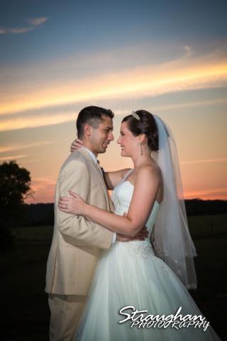 Kristan's wedding Bella Springs Boerne Sunset couple