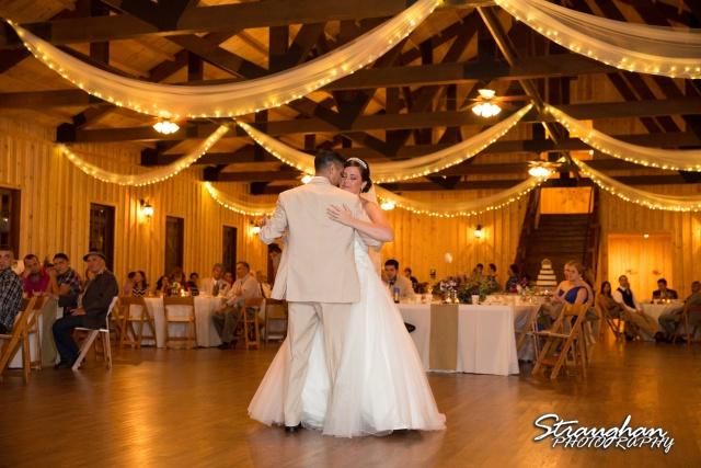Kristan's wedding Bella Springs Boerne first dance