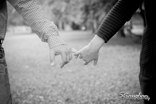 Leeann engagement Gruene bw hands