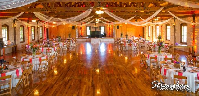 LeeAnn's wedding Boulder Springs the room