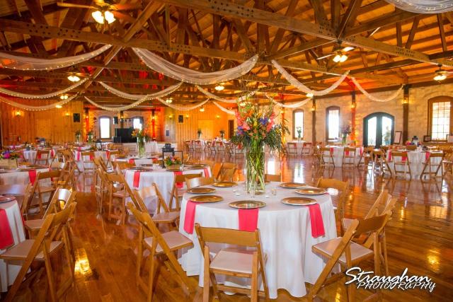 LeeAnn's wedding Boulder Springs centerpieces